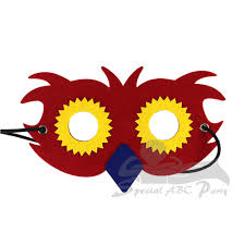 halloween party songs for kids animals series party favor felt masks for kids and adults for