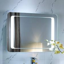wall ideas led wall mirror led wall mount mirror cordless