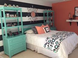 bedroom wallpaper hd wondeful beachy teal and coral bedroom