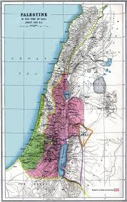 Map Of Canaan Maps Early History Of Israel