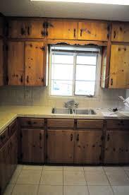 kitchen furniture update old oaken cabinets metal cabinetsupdate
