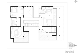 floor plans with courtyards the courtyard house near bangalore by abin design studio