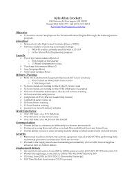 Sample Resume Objectives For Masters Degree by Sample Cover Letter Counselor