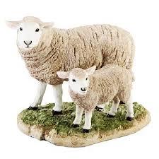 sheepfigurine ornament naturecraft sheep figurines yourpresents