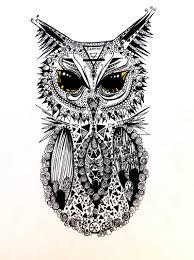 mandala owl by inspirationdraw on deviantart