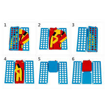 t shirt organizer dress t shirt fast fold clothes flip folder board laundry