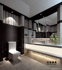 Finished Bathroom Ideas Black And White Bathroom Ideas Black White Glossy Finished Wall