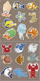 sea creatures vector vector graphics blog