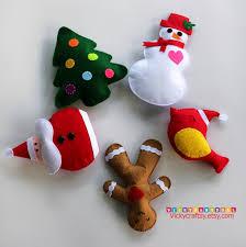ornaments felt plush ornaments tree