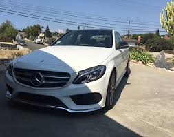 lease take over 2015 mercedes benz c300 white on red interior