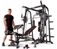 Marcy Bench Press Set Home Gym Equipment System Marcy Bench Smith Machine Set Weight