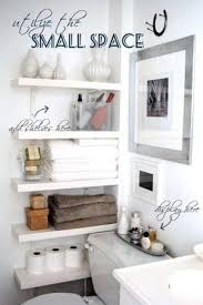 space saving ideas for small bathrooms creative uses of often wasted home spaces tiny bathrooms