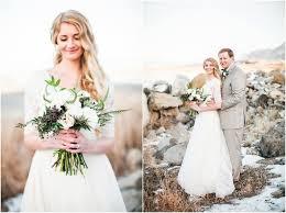 Photographers In Utah K U0026 J Winter Bridals Great Salt Lake Anastasia Strate Photography