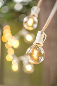 led globe string lights g40 bulb 100 ft white c7 strand warm white