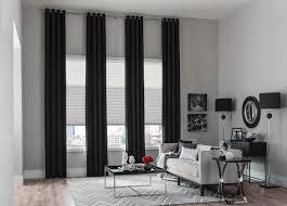 stylish custom window panels curtains budget blinds long window