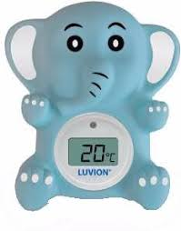 thermometre bain et chambre luvion thermomètre de bain chambre éléphant coolblue tout pour