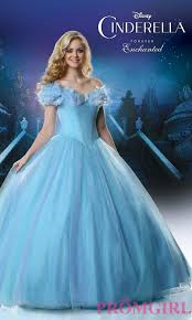 disney enchanted cinderella ball gown prom