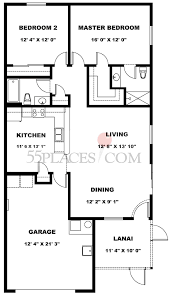 colony villa floorplan 1163 sq ft the villages 55places com