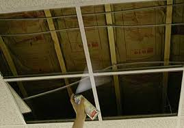 How To Put Up Tin Ceiling Tiles by Drop In Tin Ceiling Tile Installation American Tin Ceilings