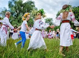 traditional slavic celebrations of ivana kupala editorial