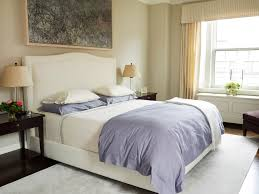 brown and cream bedding bedroom traditional with artwork bedside
