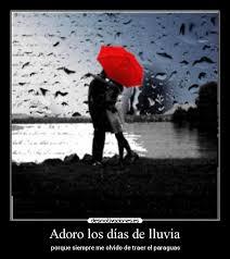 frases e imagenes de quiero estar contigo adoro los días de lluvia desmotivaciones