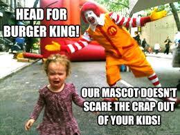 Ronald Mcdonald Phone Meme - scary ronald mcdonald scares girl memes ronald best of the funny meme