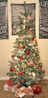 punk projects snow frosted christmas tree diy