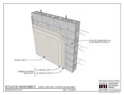 09 070 0101 stucco assembly direct applied concrete masonry