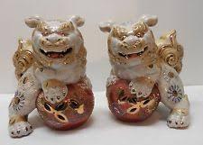 white foo dogs porcelain foo dogs ebay