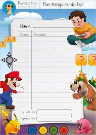 reward chart template u2013 13 free word excel pdf format download