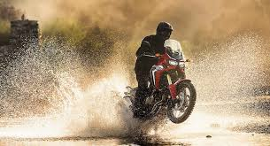 motocross in action 2016 new honda crf 1000l africa twin photos in action testing