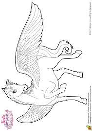 coloriage sylvie magnifique cheval aile sur hugolescargot com
