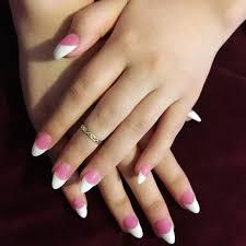 13 pink white black nail design pink black and white nail design