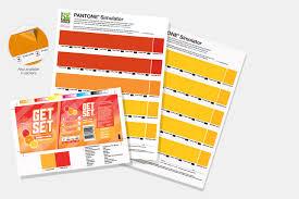 Pantone Yellow by Pantone Simulator Prints