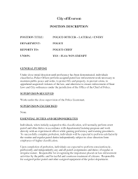 police executive resume templates army veteran resume sample jobs