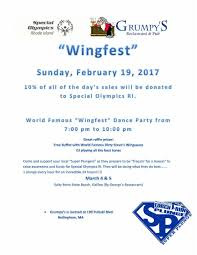 Super Buffet Hours by Special Olympics Rhode Island February March Special Events