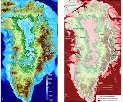 More Sea Level Rise Maps Climate Change Vital Signs Of The Planet New Greenland Maps Show