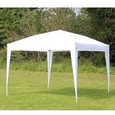 white gazebo 10 x 10 palm springs ez pop up white canopy gazebo tent new