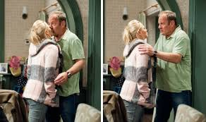 emmerdale season series dvd emmerdale spoiler tracy kisses jimmy after finding naughty dvd tv