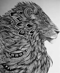 23 best tribal lion tattoo images on pinterest tattoo ideas