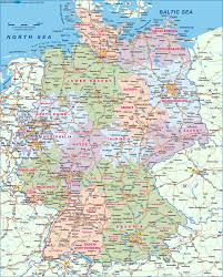 Dortmund Germany Map by Map Of Germany Map In The Atlas Of The World World Atlas