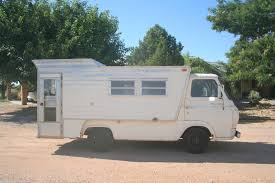 Vintage Ford Econoline Truck - camper