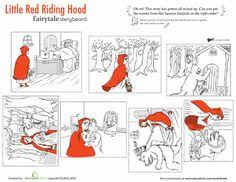 story sequencing red riding hood red riding
