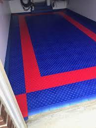 Norsk Interlocking Floor Mats by Red U0026 Blue Hd Diamond Interlocking Garage Floor Tiles