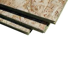 Radiant Barrier Osb Roof Sheathing by T U0026g Oriented Strand Board Common 23 32 In X 4 Ft X 8 Ft
