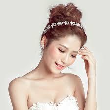 headbands for women buy wholesale diamond alloy flower soft chain