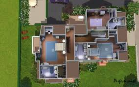 Floor Plan For 30x40 Site by Mod The Sims The Emerald House No Cc