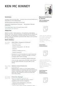 General Contractor Resume Sample by Video Editor Resume Samples Visualcv Resume Samples Database
