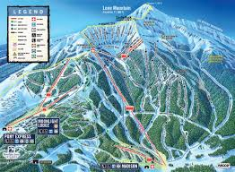 Breckenridge Ski Map Big Sky Montana Lone Mountain Ski Resort Loved Skiing Here
